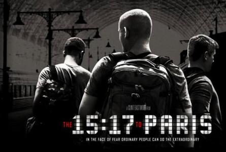 映画 15時17分、パリ行き|あらすじとネタバレ感想!面白くない?