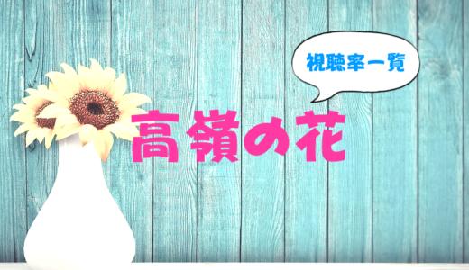 高嶺の花の視聴率一覧を最終回まで更新中(2018夏ドラマ)