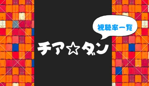 チア☆ダンの視聴率一覧を最終回まで更新中(2018夏ドラマ)